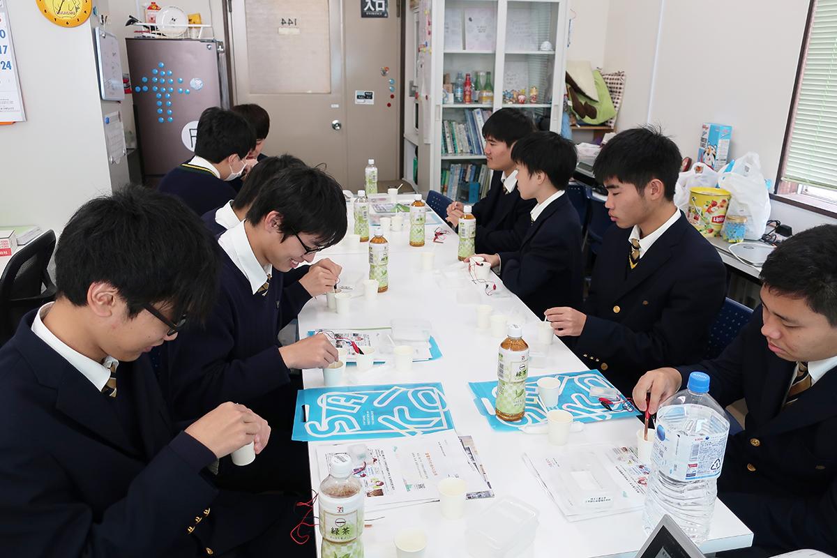 桐生第一高校ものつくりコースの2年生の生徒さん